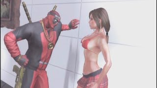 Deadpool - Cutscenes/Funny Moments (Part 4) - Prison