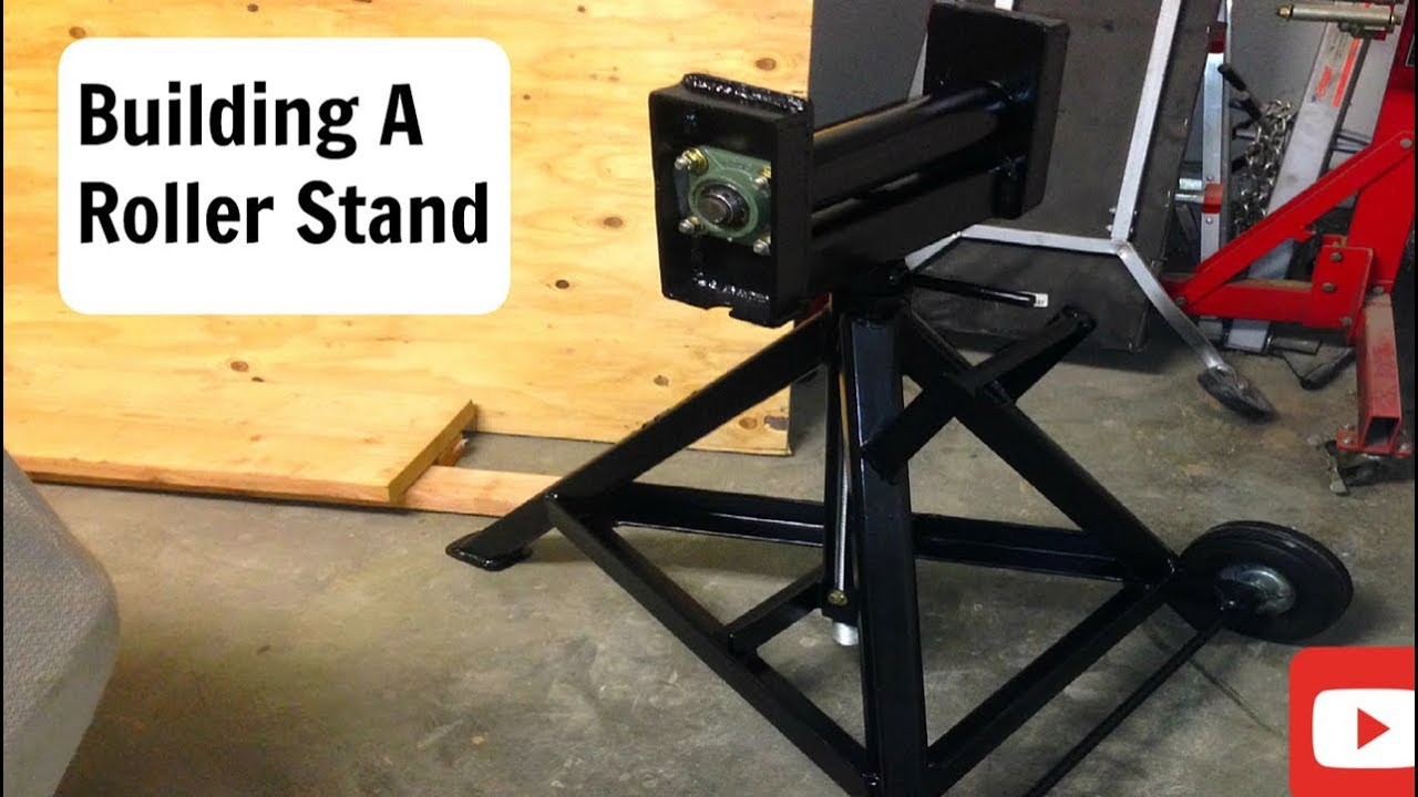 Bead Roller Stand Roller Stand Build