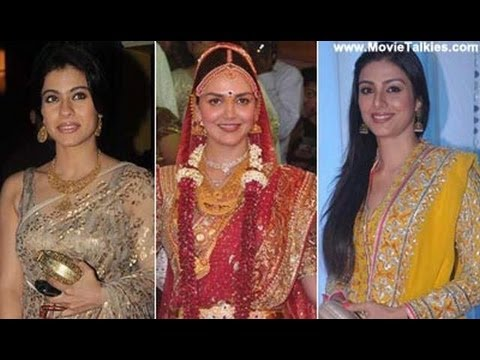 Fashion At Esha Deol-Bharat Takhtani Wedding: Ft. Rani Mukerji, Vidya Balan, Hema Malini, Rekha