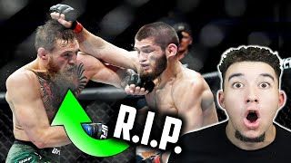 American Reacts to Khabib Nurmagomedov's GREATEST UFC Career Highlights 2018 | Conor McGregor Fight