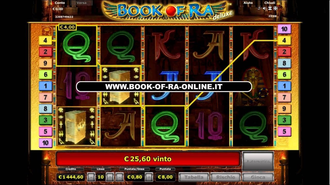 watch casino online book or ra