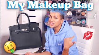Whats In My Makeup Bag (Holy Grails, Favorites, New Products, Travel Tips)   Gabriel Zamora