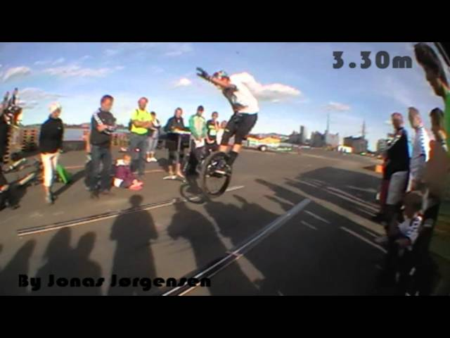 Unicycle - World Record [Official] - Longjump 3.30m