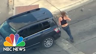 Watch Texas Mom With Baby In High Speed Chase With Police | NBC News