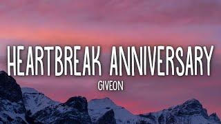 Download lagu Giveon - Heartbreak Anniversary (Lyrics)