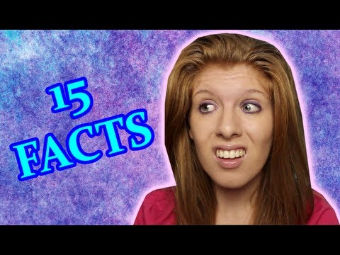 15 Facts About Me