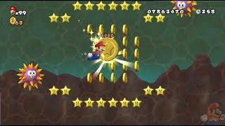 New Super Mario All Stars HD: Super Mario Land 2 REMAKE 100% World 1: Space Zone part 1