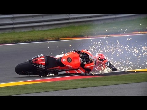 MotoGP™ Sachsenring 2013 — Biggest crashes