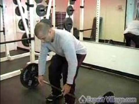 Personal Training Workout Tips & Drills : Dead Lift Fitness Exercises Image 1