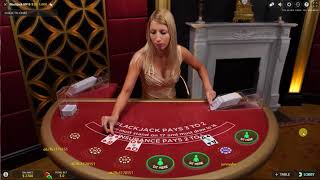 How to playing Blackjack 21 online with live dealer at Bitstarz Casino