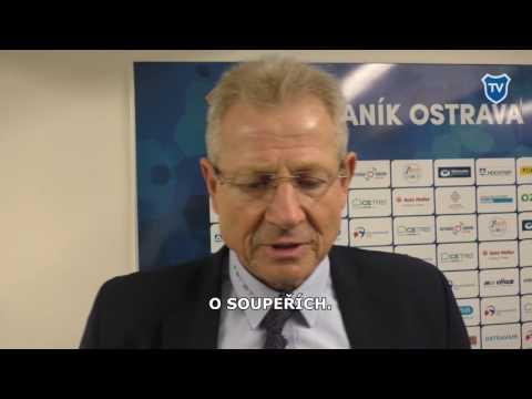 Trenér Vlastimil Petržela hodnotí podzim Baníku ve druhé lize.