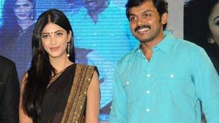 Reason behind Sruthi refusing to act with Karthi | Hot Tamil Cinema News