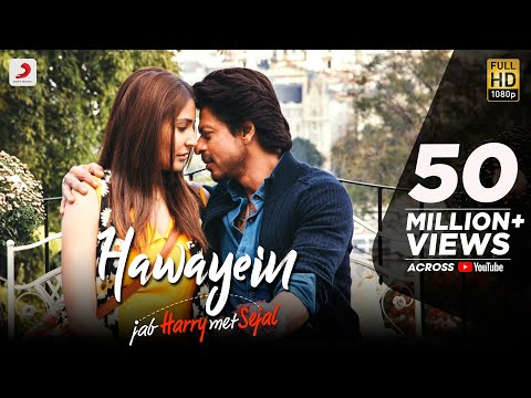 Hawayein Video Song - Jab Harry Met Sejal