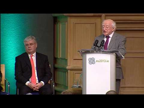 Remarks by President Michael D. Higgins at Hunger-Nutrition-Climate Justice Conference Dublin Castle