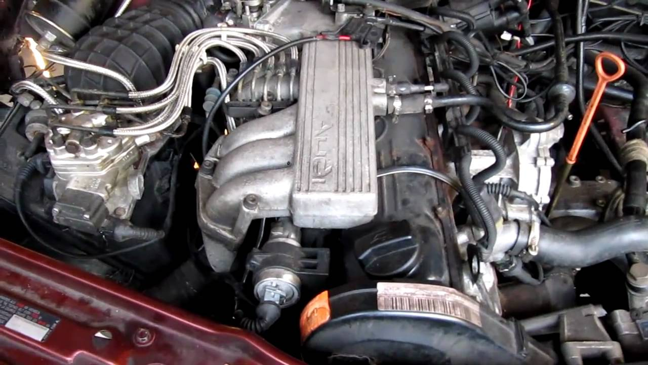 Audi 100 C4 2 3e Motorproblem Engine Problem Youtube