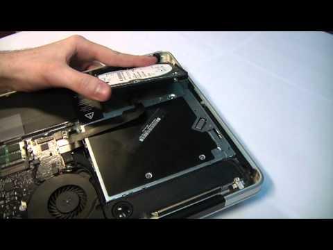 Замена жесткого диска MacBook Pro Unibody