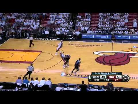 Miami Heat vs Brooklyn Nets - Game 1 Highlights - NBA PLAYOFFS 2014
