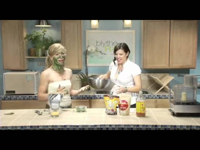 Spirulina Face and Body Mask - Blythe Raw Live