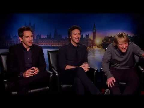 Ben Stiller, Owen Wilson, Rebel Wilson, Dan Stevens And Shawn Levy Interview