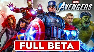 MARVEL'S AVENGERS Gameplay Walkthrough Part 1 FULL BETA [1080P HD 60FPS PS4 PRO] - No Commentary