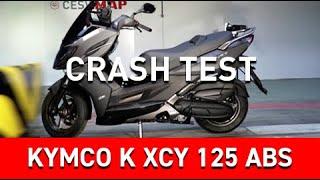 Crash Test Kymco K XCT 125 ABS