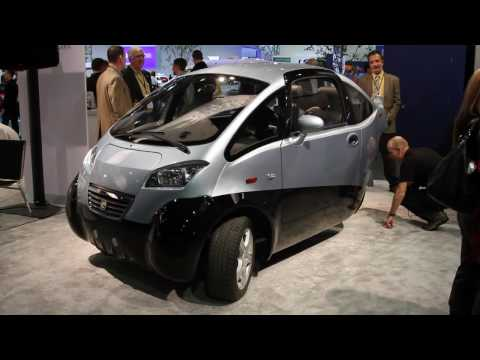 Green Vehicles all-electric three-wheeled TRIAC