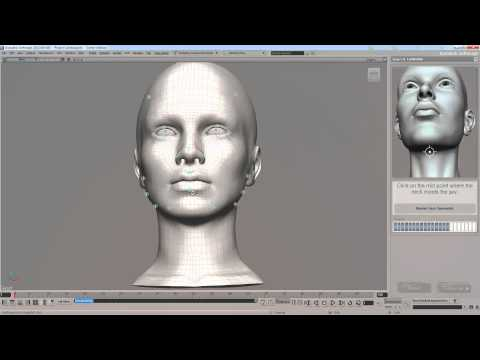 Tutorial básico de  Softimage FaceRobot.