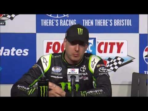 Kyle Busch 2nd Food City 300 NNS Race at Bristol NASCAR Video