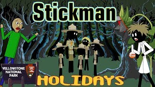 Stickman mentalist. School evil. Holidays. Best video