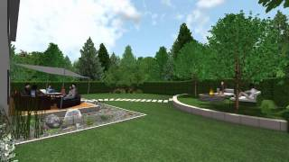 DATAflor GRÜNSTUDIO 3D®: Beispiel Visualisierung 1