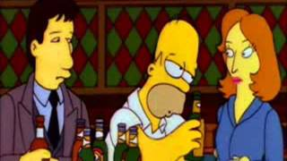 Mulder & Scully On The Simpsons.wmv