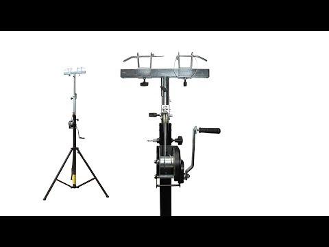 ProX XT-LS132 14ft Lighting/Crank Truss Stand. (Includes XT-ADAPTER-U) - Holds 200lbs