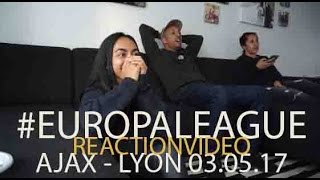 AJAX - OLYMPIQUE LYON 4-1 X REACTION