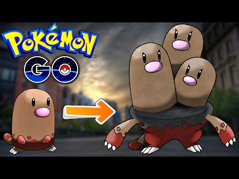 Pokemon Go / Покемон Го ► Эволюция покемона Diglett ◓ Dugtrio ► #54