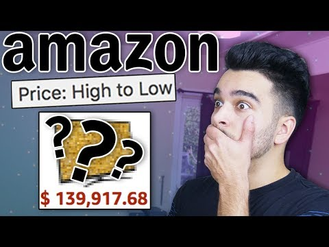 Buying THE MOST EXPENSIVE Things On Amazon! 100 RANDOM PRODUCT CHALLENGE! ррр