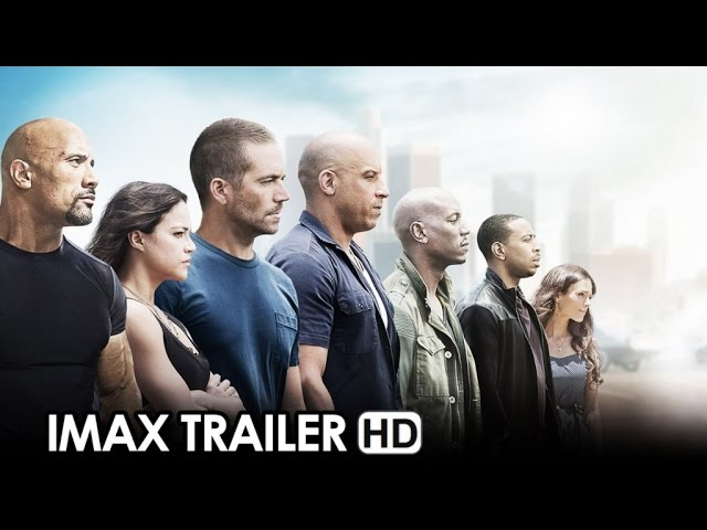 Fast & Furious 7 IMAX Trailer (2015) - Vin Diesel Movie HD