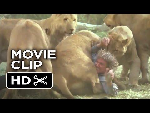 Roar Movie CLIP - Watch Out (2015) - Melanie Griffith Movie HD