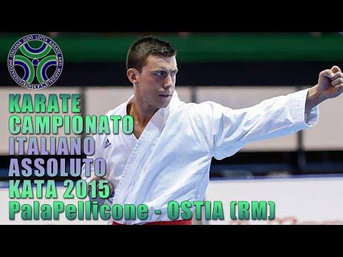 KARATE KATA Campionato Italiano Assoluto Maschile 2015