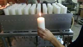 Candle making machine Candle molding machine Utilaj lumanari masa cu matrite