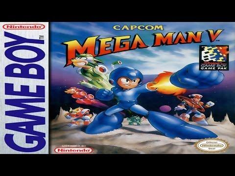 Mega Man V [Game Boy] [100% Walkthrough] [HD+]