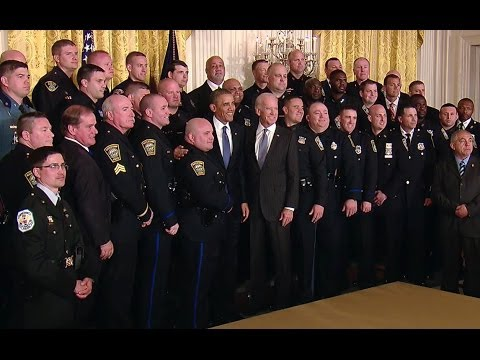 President Obama and Vice President Biden Honor America's TOP COPS