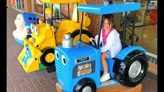 Ride On Power wheels Tractor for Kids