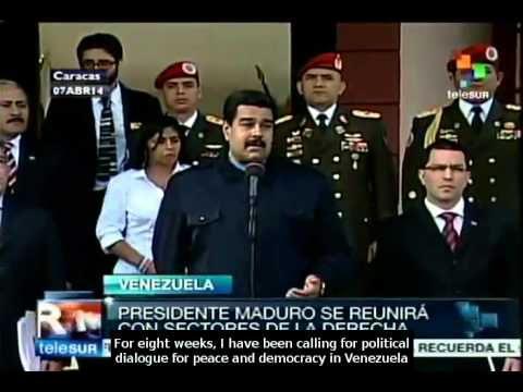 President Maduro to meet with opposition sectors tomorrow