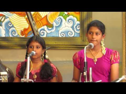 Giriraja Sudha Keerthanai Song Sung B.poornima&sneha Nolambur Sisters video