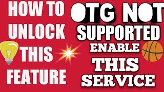 How to enable #OTG in smart phones