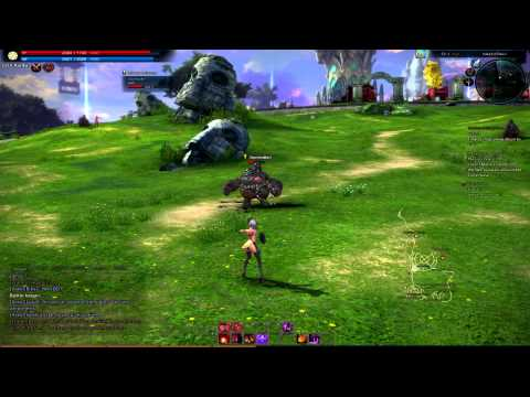 TERA Online: Test Phase on Europe server (EU) - last 9 minutes (Sorcerer) (Full HD)