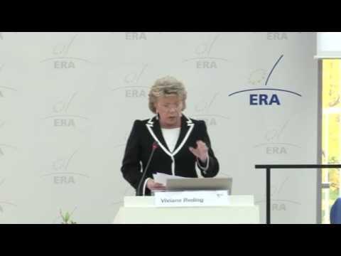 Plenary Speech of Viviane Reding, Vice-President of the European Commission