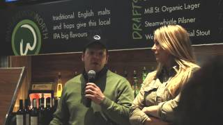 video Chef Paul Wahlberg and manager Alex Yetman thank the crowd after airing the Wahlburgers Toronto opening episode on March 4, 2015. #Wahlburgers #WahlburgersTO #WahlburgersCA #WahlburgersAE.