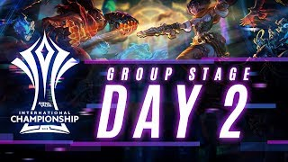 AIC 2018 | Thailand Group Stage - Day 2