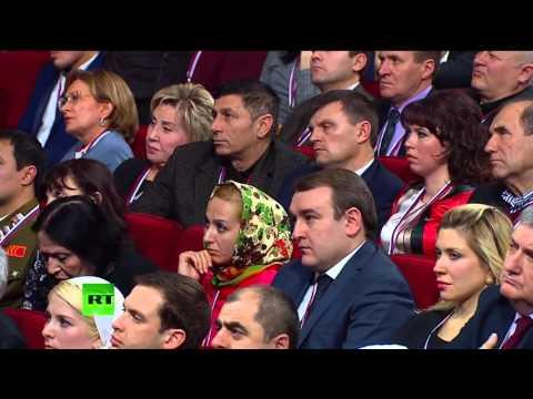 Вопрос Руслана Курбанова Путину. Форум ОНФ в Ставрополе